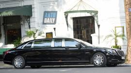 Diện kiến Mercedes-Maybach S600 Pullman hơn 30 tỷ tại Việt Nam