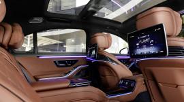 Choáng ngợp trước không gian nội thất của Mercedes S-Class 2021