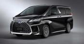 Minivan hạng sang Lexus LM phiên bản 4 chỗ giá 215.000 USD