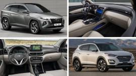 So sánh Hyundai Tucson 2022 với phiên bản tiền nhiệm