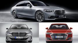 So sánh Mercedes S-Class 2021 với BMW 7-Series và Audi A8