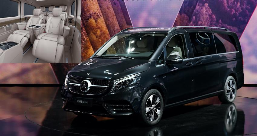 Mercedes-Benz V-Class 2021 ra mắt, sang trọng như S-Class