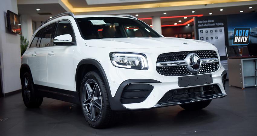 Tất tần tật về Mercedes-Benz GLB 200 AMG giá 2 tỷ, SUV 5+2 chỗ ngồi