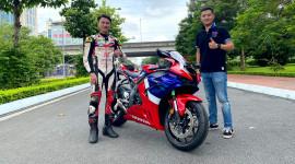 Tay đua số 1 Việt Nam chia sẻ cảm nhận khi test siêu mô tô Honda CBR1000RR-R 2020