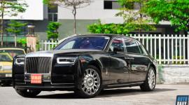 Ảnh chi tiết Rolls-Royce Phantom VIII EWB giá khoảng 70 tỷ tại Việt Nam
