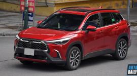 Tân binh Toyota Corolla Cross 2021 đạt doanh số khủng trong tháng 9