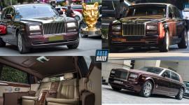 3 chiếc Rolls-Royce Phantom độc nhất vô nhị mua chính hãng tại Việt Nam