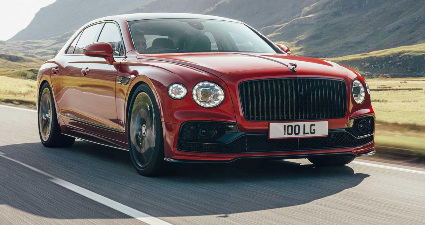 Bentley Fpying Spur V8 2021 ra mắt, nhẹ hơn 100kg so với W12