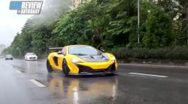 Lái thử siêu phẩm McLaren 650S Spider dưới mưa