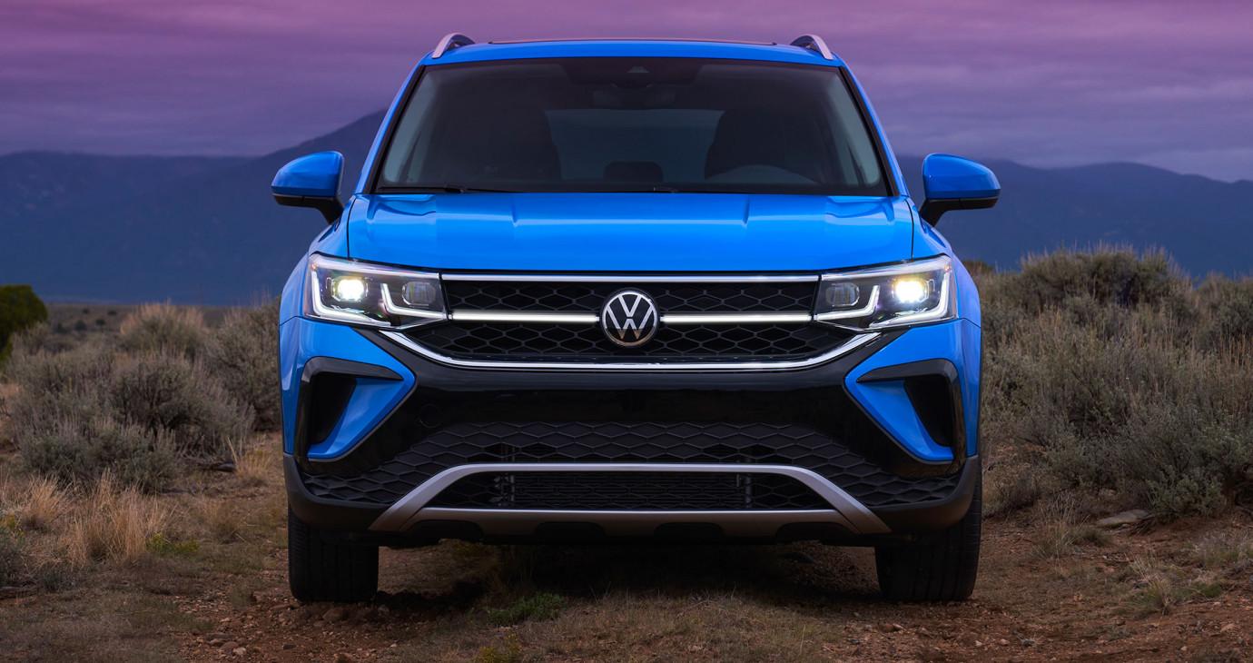 Volkswagen Taos 2022: Đẹp, hiện đại, đấu Kia Seltos và Hyundai Kona