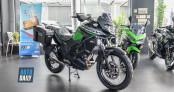 """""""Xế phượt"""" Kawasaki Versys-X 300 ABS 2021 có giá hơn 145 triệu đồng"""