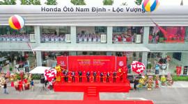 Khai trương Đại lý Honda Ôtô Nam Định – Lộc Vượng, tưng bừng khuyến mãi