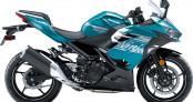 Kawasaki Ninja 400 và Ninja 650 2021 sắc nét hơn với bộ cánh mới