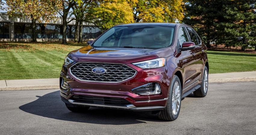Ford Edge 2021 nâng cấp công nghệ, cạnh tranh Kia Sorento