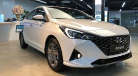 Ảnh thực tế Hyundai Accent 2021 tại đại lý
