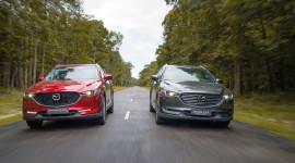 Bộ đôi Mazda CX-5 và CX-8 chiếm lĩnh đường đua SUV