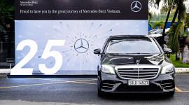 25 năm hoạt động, Mercedes-Benz Việt Nam bán hơn 40.000 xe sang