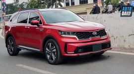 Nhiều chủ xe Kia Sorento 2021 hào hứng khoe nhận xe, khen thiết kế đẹp, nội thất ổn
