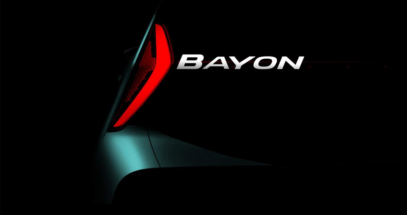 Hyundai sắp ra mắt mẫu SUV cỡ nhỏ hoàn toàn mới mang tên Bayon