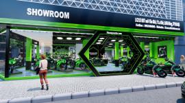 Showroom Kawasaki sắp khai trương tại Hà Nội: Nơi thoả mãn đam mê xe PKL