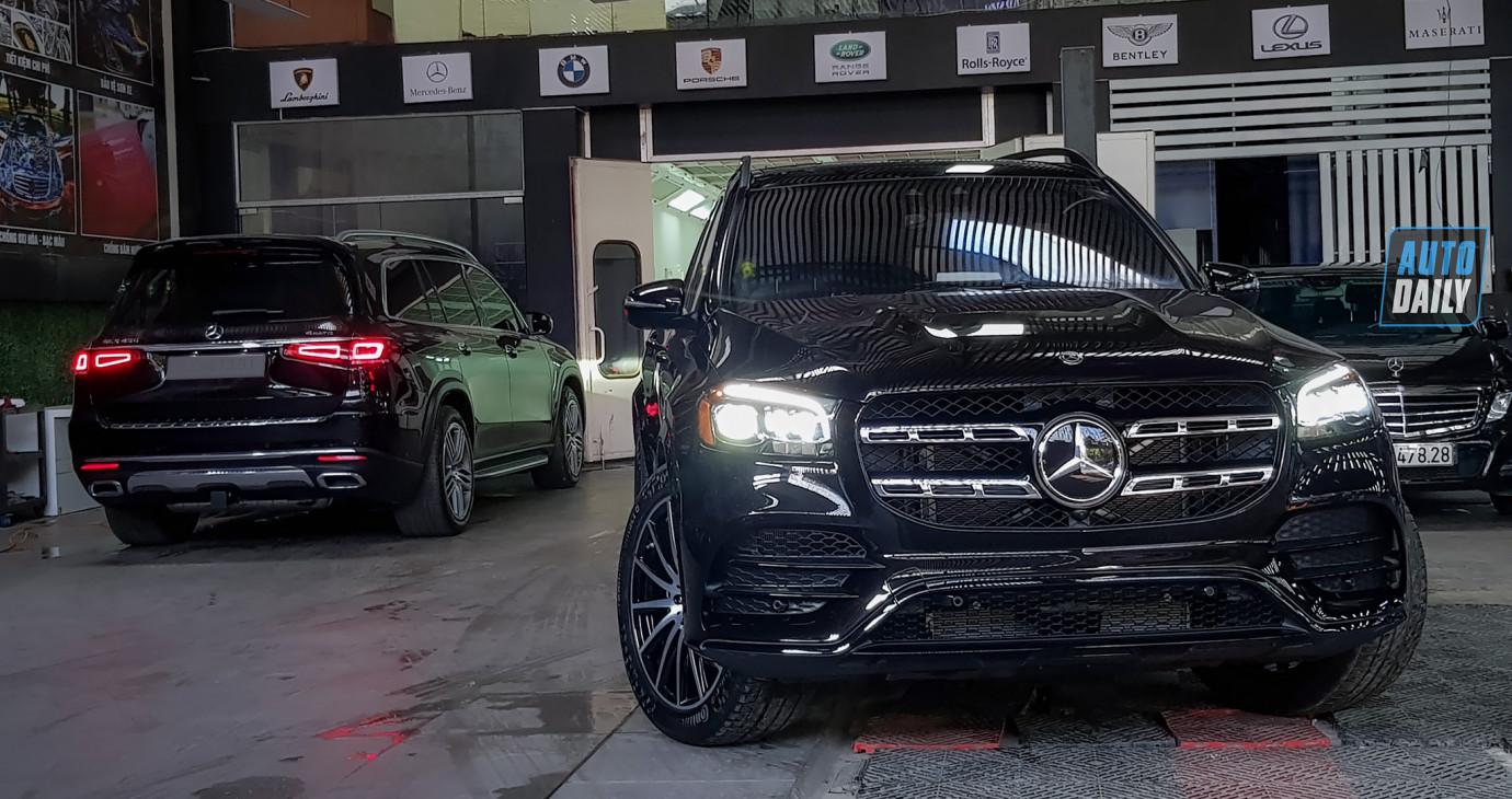 Mercedes-Benz GLS 580 4Matic nhập Mỹ giá hơn 9 tỷ về Việt Nam