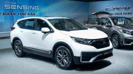 Honda CR-V là mẫu xe bán chạy nhất của HVN tháng 11/2020