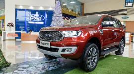 Cận cảnh Ford Everest 2021 vừa về Việt Nam, giá từ 999 triệu