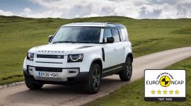 Land Rover Defender phiên bản 110 đạt tiêu chuẩn 5 sao của Euro NCAP