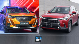 830tr, chọn Peugeot 2008 GT Line 2021 hay Toyota Corolla Cross 1.8V 2020?
