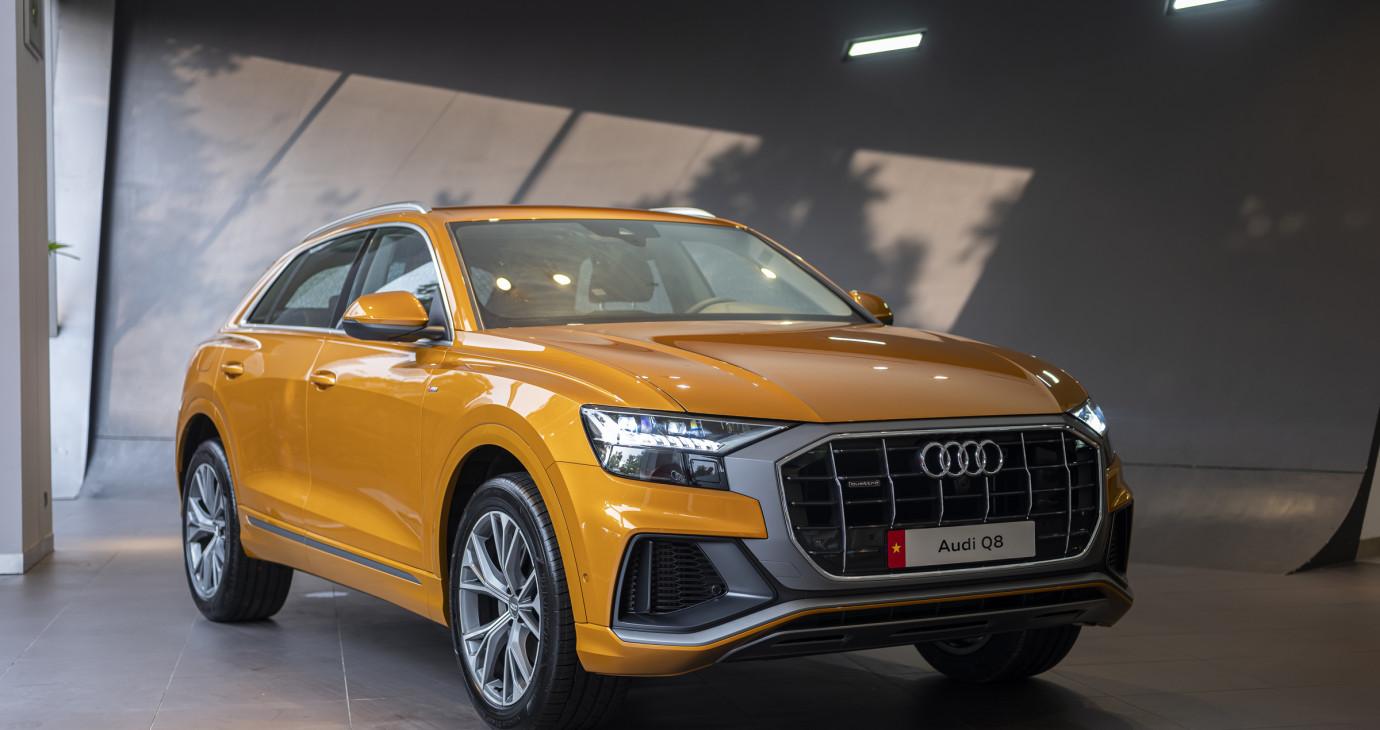 Audi Q8 sẽ đến tay khách hàng Việt trước Tết