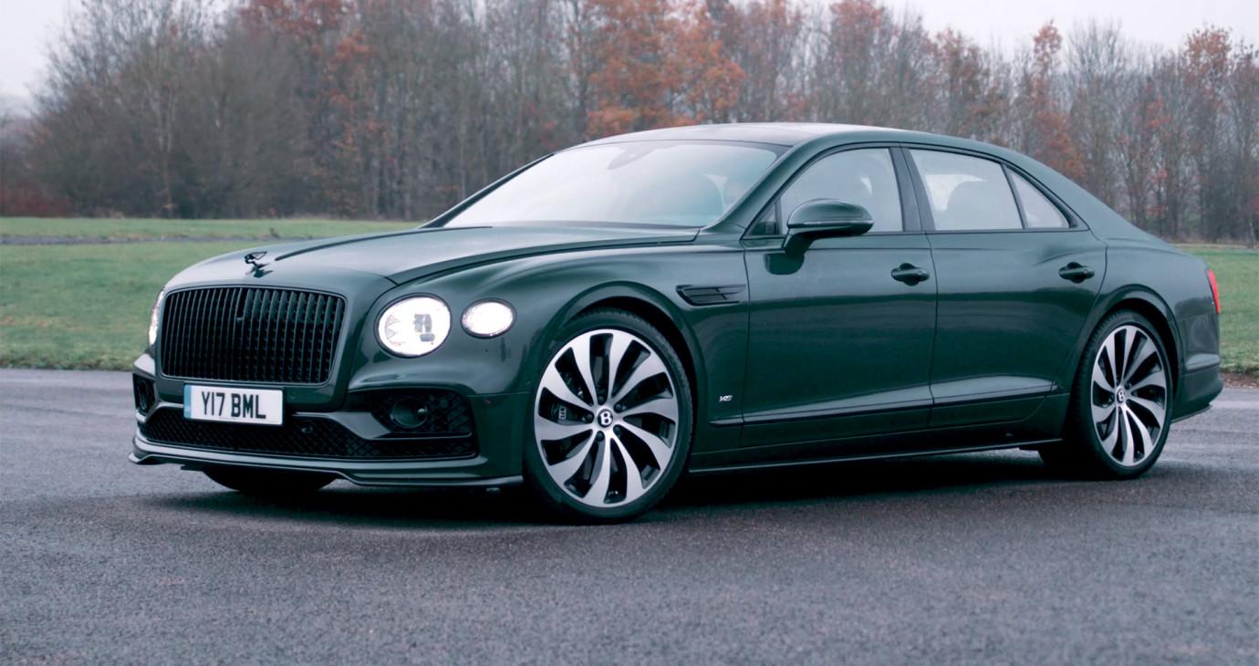 Bentley Flying Spur 2022 V8 - Chi tiết NỘI THẤT, NGOẠI THẤT - Sedan cho đại gia