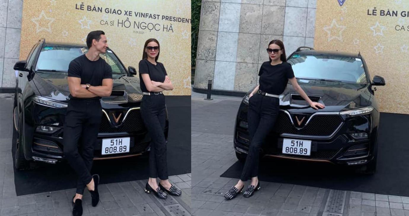 Hồ Ngọc Hà tiếp tục chi tiền tỷ tậu xe VinFast, lần này là mẫu President đầu bảng