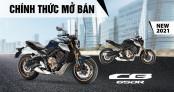Honda CB650R 2021 cập bến thị trường Việt Nam