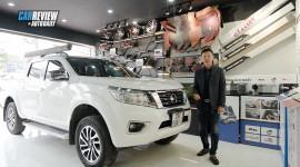 """Lê Hùng đi chọn màn hình ô tô thông minh cho """"chiến binh"""" Nissan Navara"""