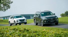 Hyundai Santa Fe là mẫu SUV 7 chỗ đắt khách nhất năm 2020