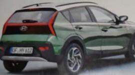 SUV đô thị Hyundai Bayon rò rỉ hình ảnh trước ngày ra mắt