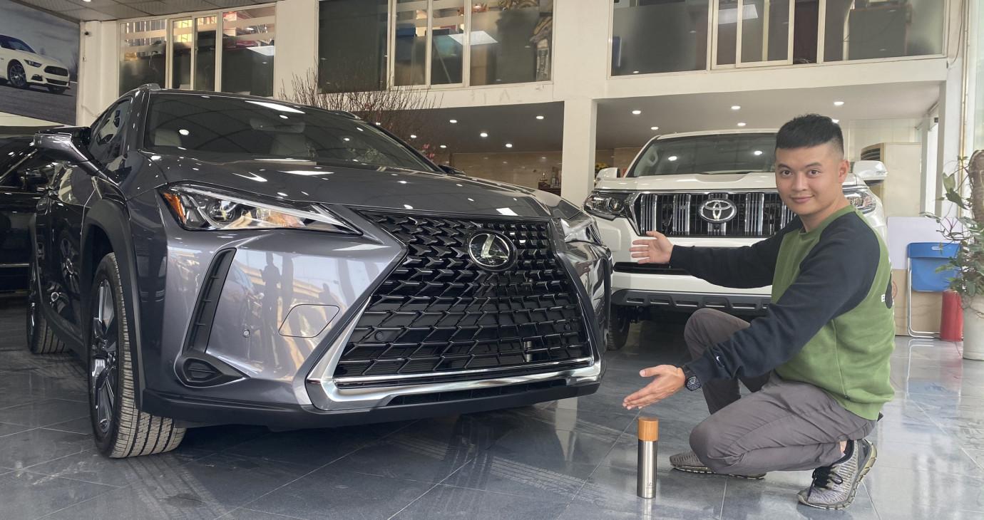 Trải nghiệm nhanh HÀNG NÓNG Lexus UX 200 vừa về Việt Nam