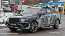Bentley Bentayga EWB - SUV Siêu sang lần đầu lộ diện trên đường thử