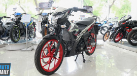 Cận cảnh Suzuki Satria F150 2021 giá gần 52 triệu đồng