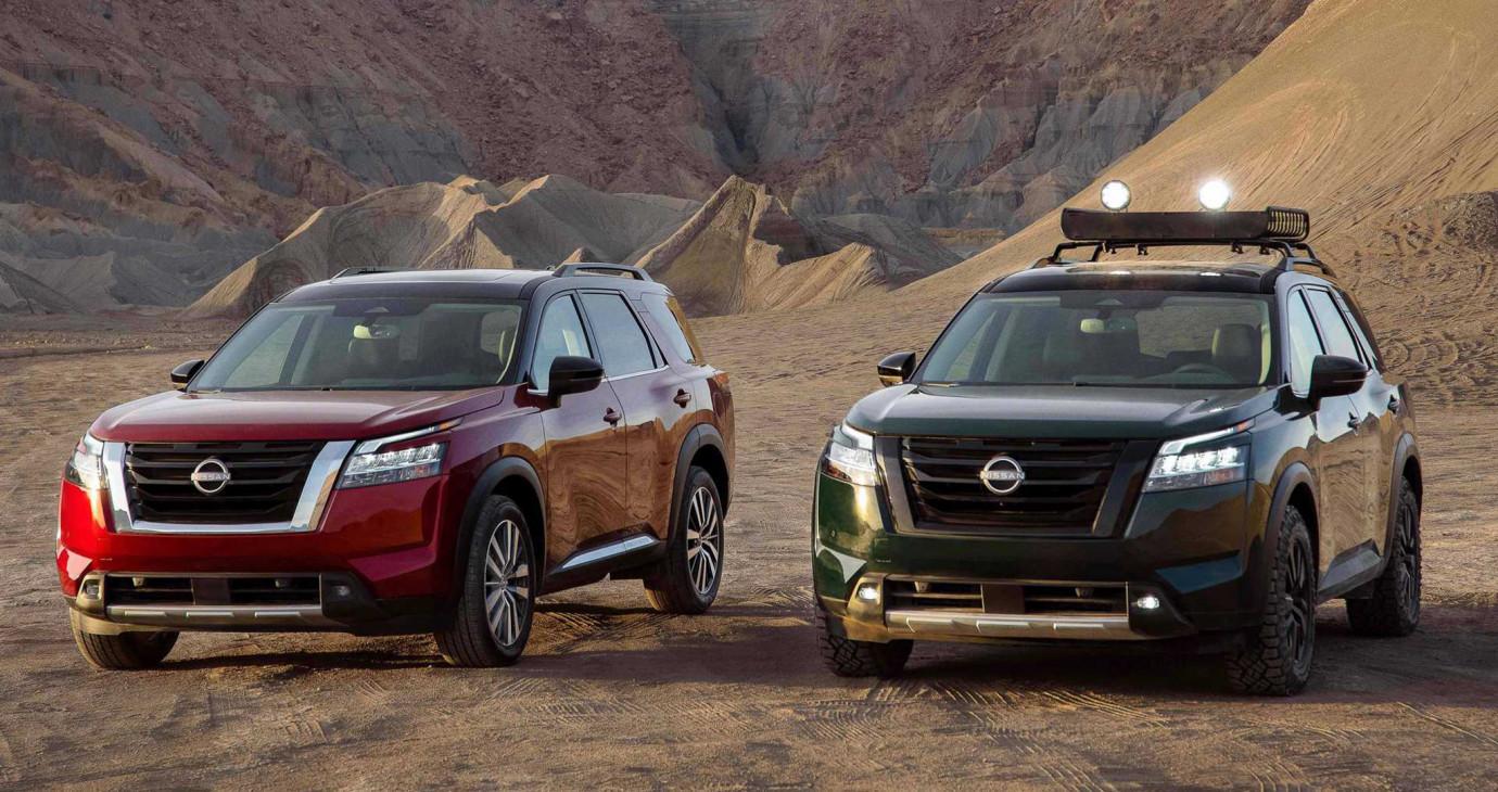 Nissan Pathfinder 2022 ra mắt, SUV 3 hàng ghế lớn hơn X-Trail