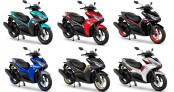 """Yamaha NVX 155 2021 có thêm 6 bộ áo mới cho """"thượng khách"""""""