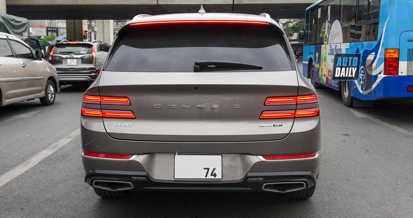 Diện kiến Genesis GV80 2021 giá hơn 4 tỷ - Xe sang Hàn cạnh tranh xe Đức