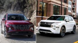 So sánh Mitsubishi Outlander 2022 và Hyundai Tucson 2022: Xe nào cũng đáng chờ đợi