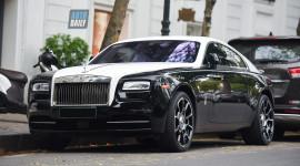 Rolls-Royce Wraith của Hoa hậu Thu Ngân được độ ấn tượng
