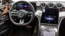 Nội thất Mercedes C Class 2022 như S Class