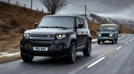 Land Rover Defender V8 2022 trình làng, mạnh 518 mã lực