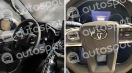 Toyota Land Cruiser thế hệ mới rò rỉ ảnh nội thất