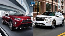 Toyota RAV4 vs Mitsubishi Outlander 2022: Cuộc chiến crossover Nhật