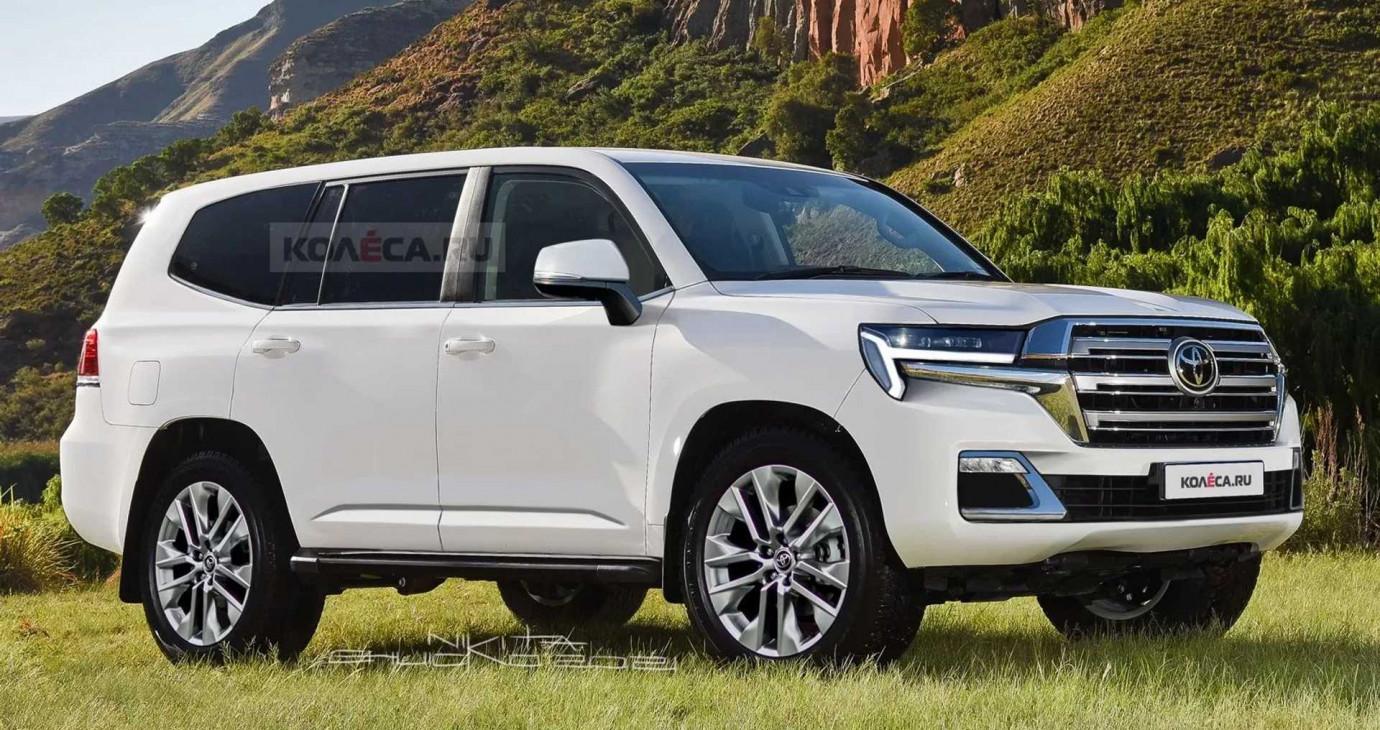 Xem trước thiết kế ngoại thất của Toyota Land Cruiser thế hệ mới