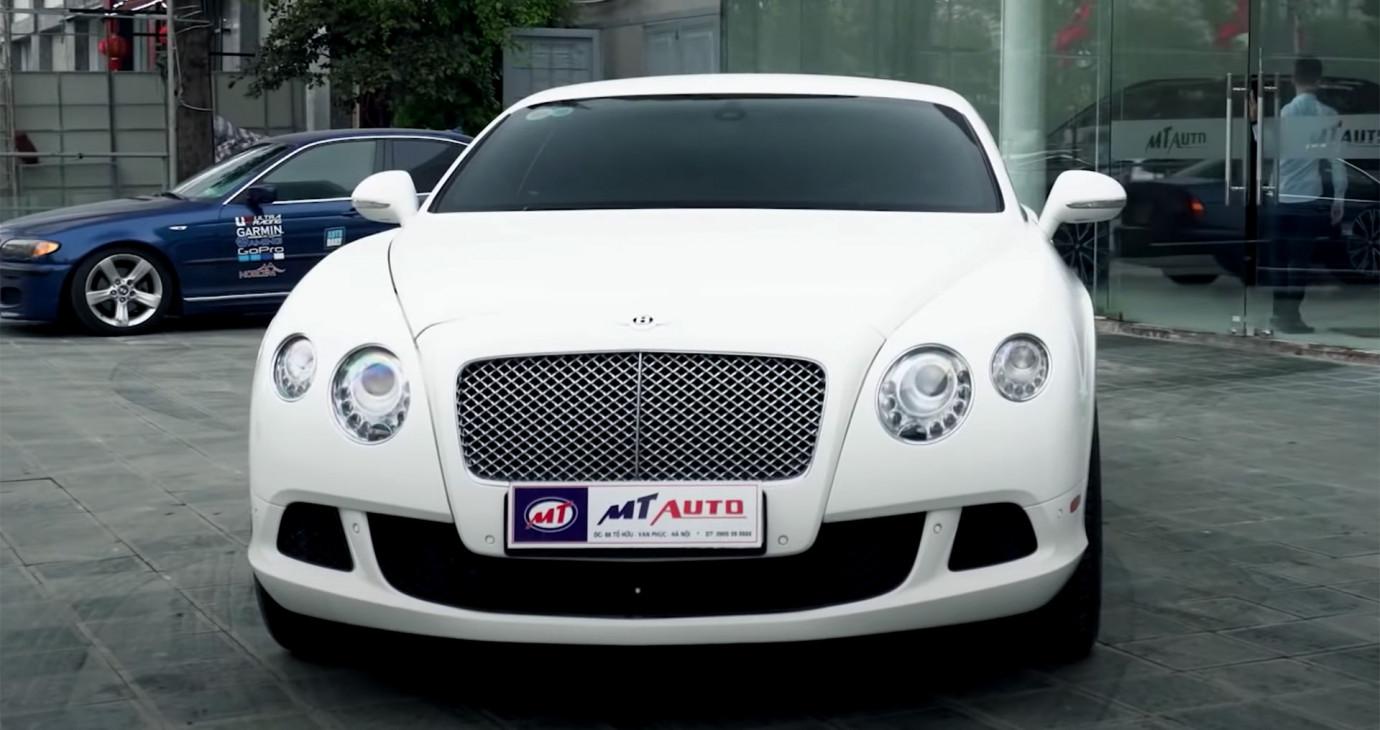 Bentley Continental GT W12 giá hơn 7 tỷ - Chạy phê như thế nào?